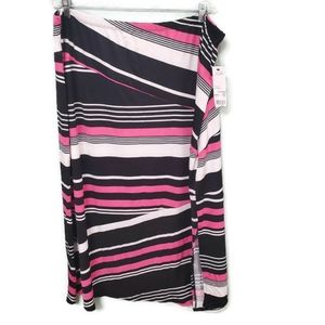 Notations Womens Pink Airtrain Skirt Plus Size
